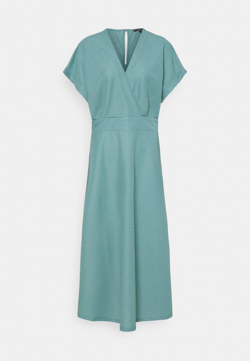 Esprit Collection - WRAP - Maxi dress - dark turquoise