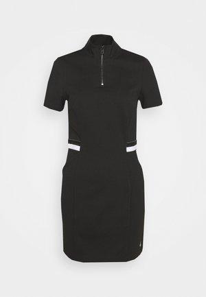 ZIP MILAN - Pouzdrové šaty - black