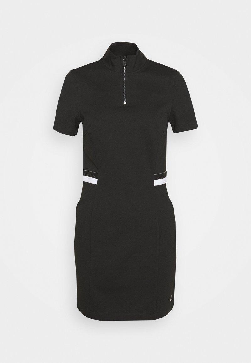 Calvin Klein Jeans - ZIP MILAN - Sukienka etui - black
