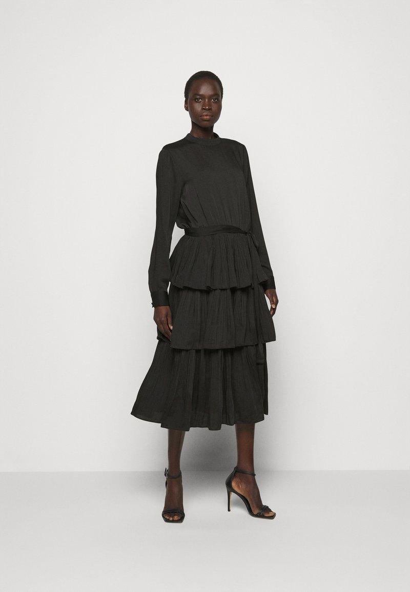 Bruuns Bazaar - EMILLEH ENOLA DRESS - Cocktail dress / Party dress - black