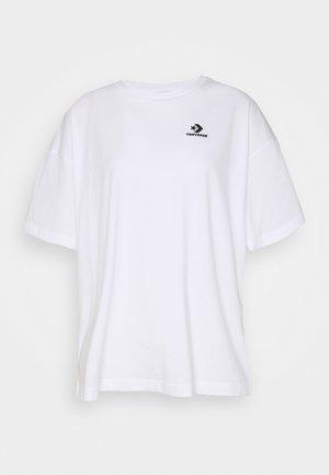 OVERSIZED LOGO - Basic T-shirt - white