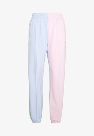PANT  - Tracksuit bottoms - hydrogen blue/pink foam