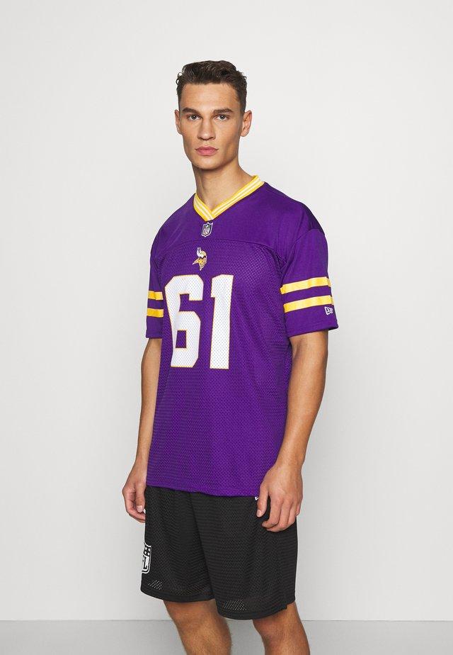NFL OVERSIZED MINNESOTA VIKINGS - Article de supporter - purple