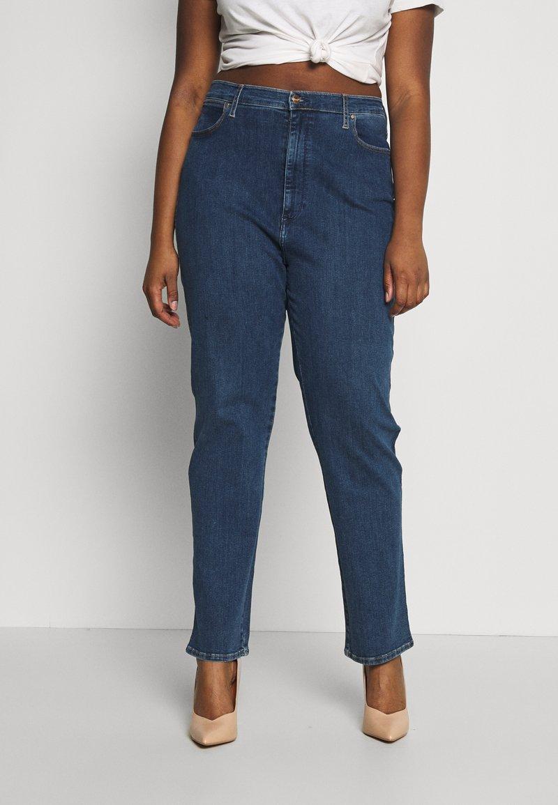 Wrangler Plus - PLUS - Straight leg jeans - dark blue