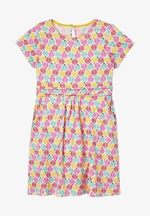 MINI ME AMELIE  - Jersey dress - bunt/palmenkacheln