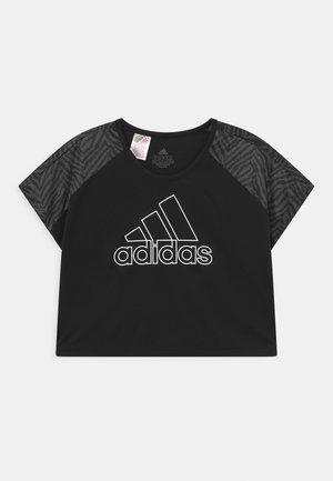 SEAS TEE - Print T-shirt - black/grey six