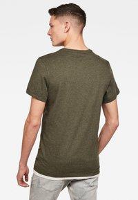 G-Star - BASE-S R T S\S - T-shirt basic - green - 1