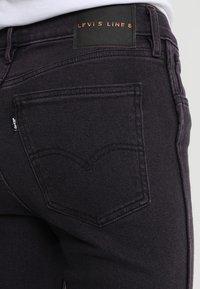 Levi's® Line 8 - L8 HIGH SKINNY - Jeans Skinny Fit - l8 byzantium stonewash - 5