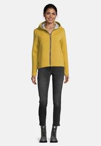Amber & June - MIT KAPUZE - Zip-up hoodie - yellow - 1