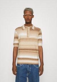 Jaded London - OMBRE - Poloskjorter - brown - 0