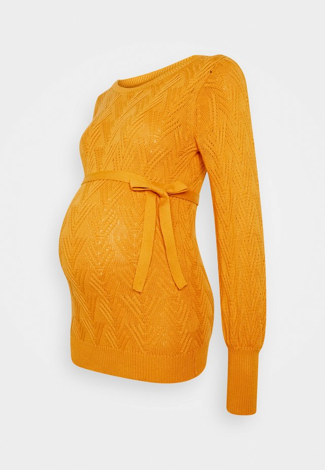 MLMARIANNA - Pullover - mineral yellow