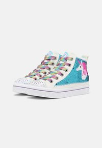 Skechers - TWI LITES 2.0 - High-top trainers - white/multi/turquoise - 1