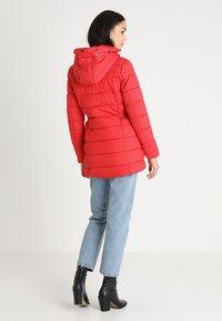 ONLY - ONLNORTH COAT  - Winter coat - goji berry - 4