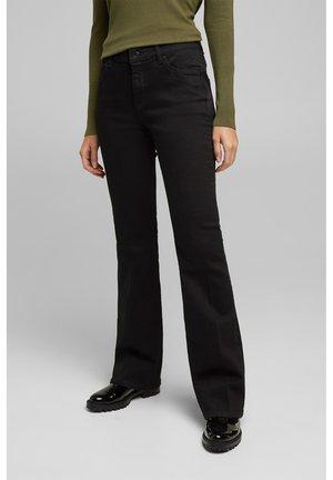Bootcut jeans - black rinse