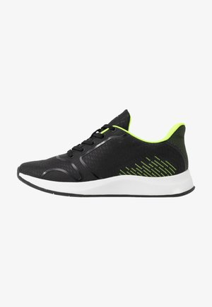 Trainers - black/neon