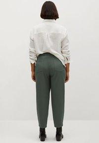 Violeta by Mango - NEWPEPI - Trousers - khaki - 2