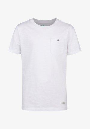 WE FASHION JONGENS T-SHIRT - Basic T-shirt - white
