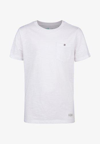 WE FASHION JONGENS T-SHIRT - T-shirt - bas - white