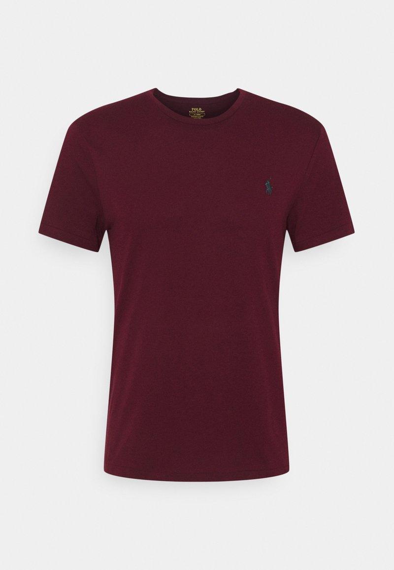 Polo Ralph Lauren - CUSTOM SLIM FIT JERSEY CREWNECK T-SHIRT - T-shirt basique - classic wine