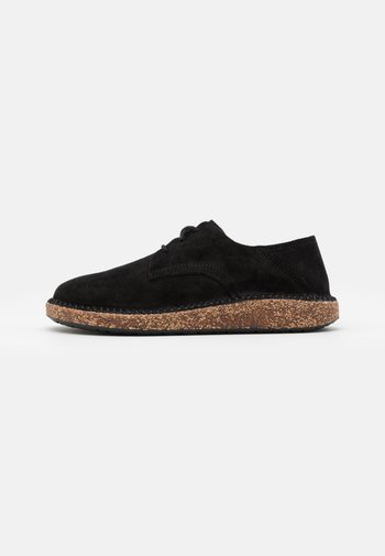 GARY NARROW FIT UNISEX - Casual lace-ups - black