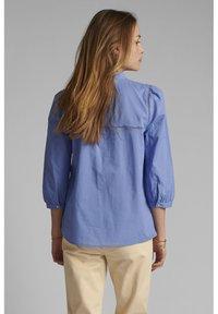 Nümph - Button-down blouse - wedgewood - 1
