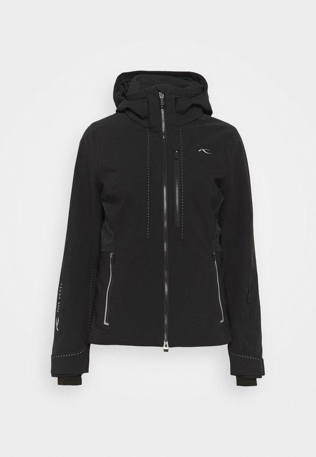 WOMEN EVOLVE JACKET - Lyžařská bunda - black