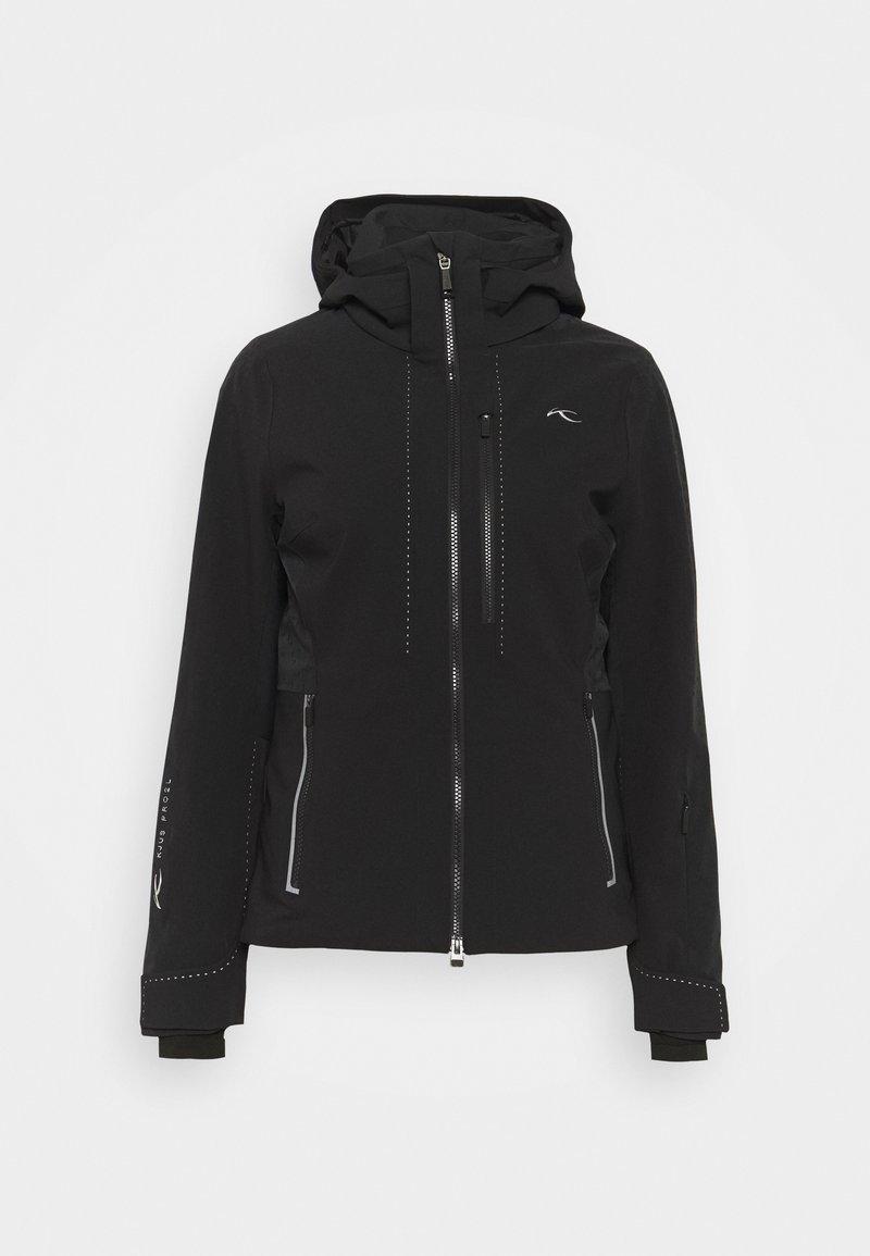 Kjus - WOMEN EVOLVE JACKET - Ski jacket - black