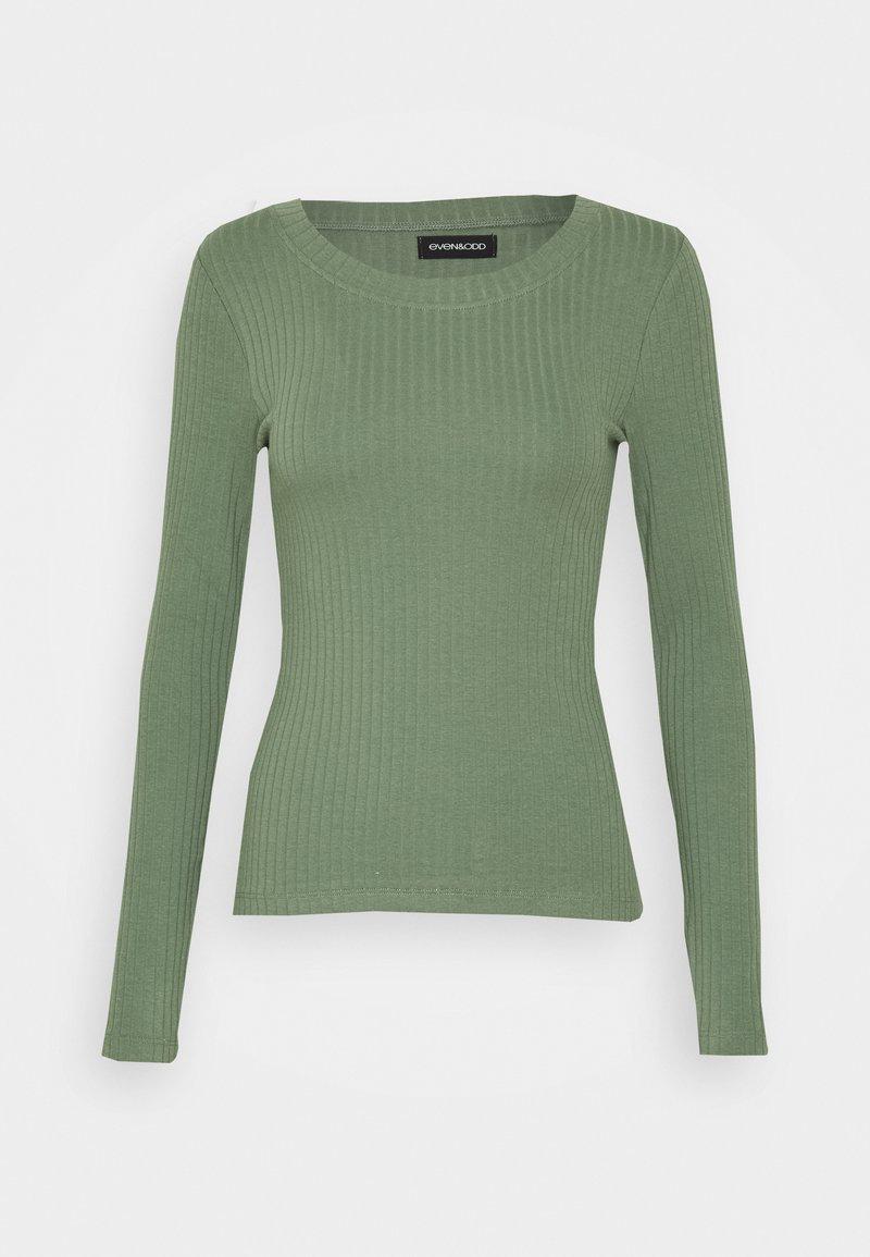 Even&Odd - Topper langermet - green