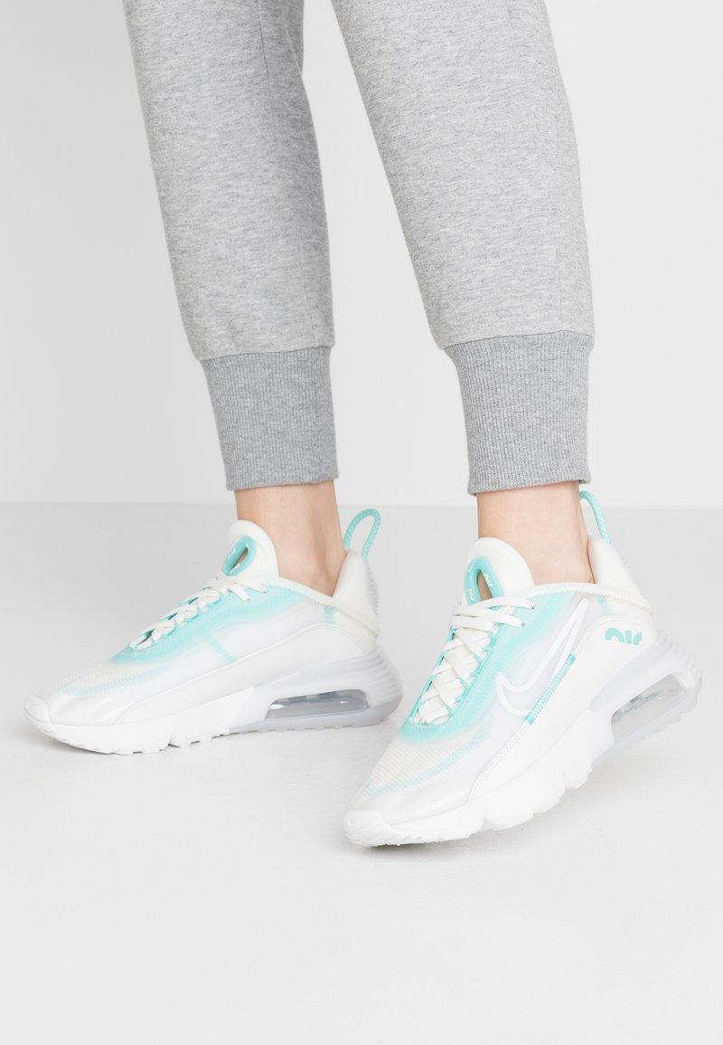 Nike Sportswear - AIR MAX 2090 - Trainers - sail/black/green/summit white
