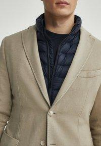 Massimo Dutti - SLIM FIT - Blazer jacket - beige - 3