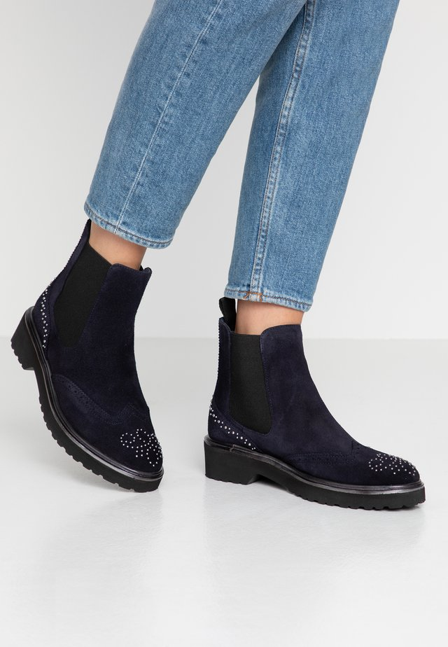 Classic ankle boots - bleu