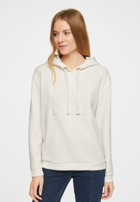comma - Hoodie - white - 0