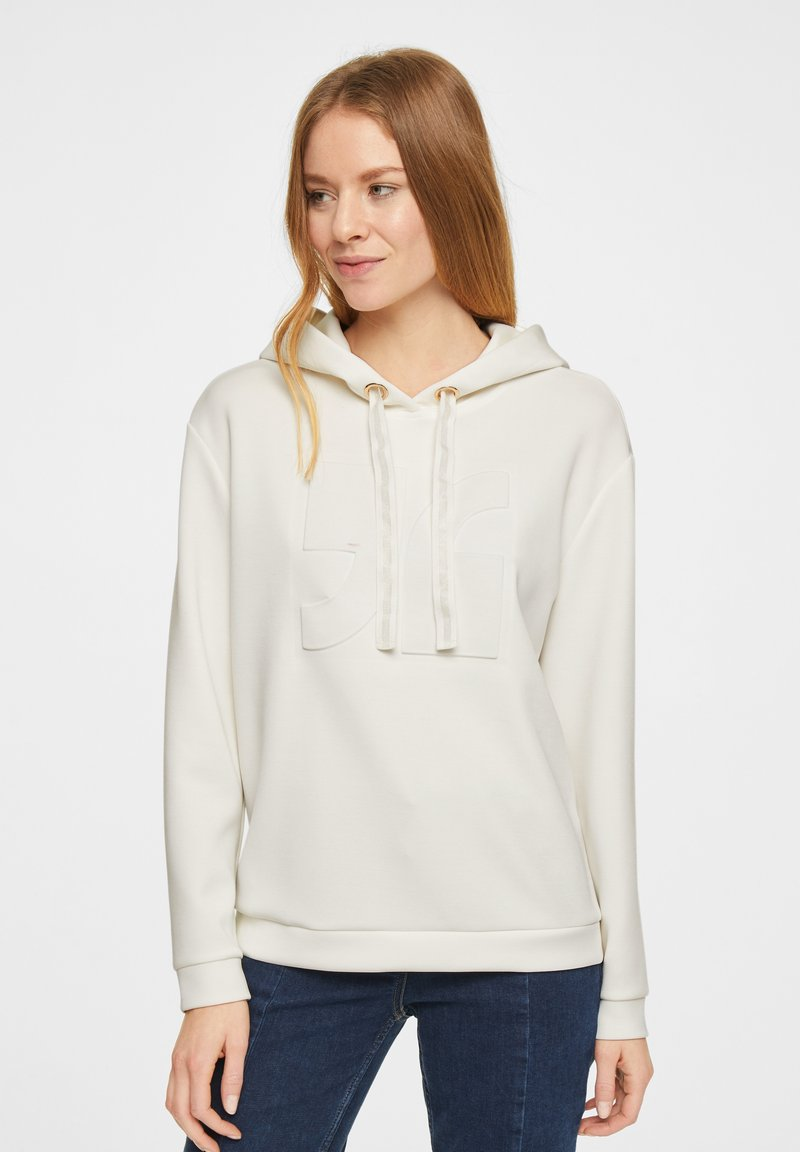 comma - Hoodie - white