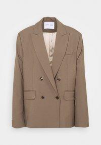 ZEPHERINE - Short coat - black olive