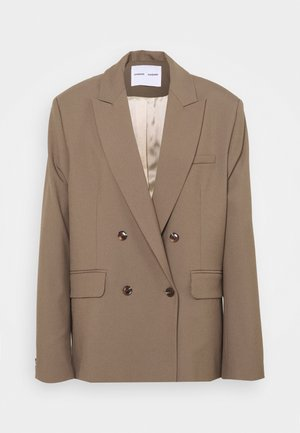 ZEPHERINE - Short coat - black olive