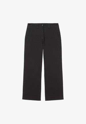Trousers - dusty black
