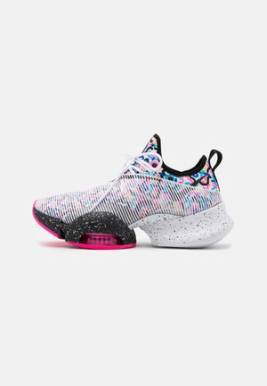 AIR ZOOM SUPERREP - Sports shoes - black/white/baltic blue/pink blast