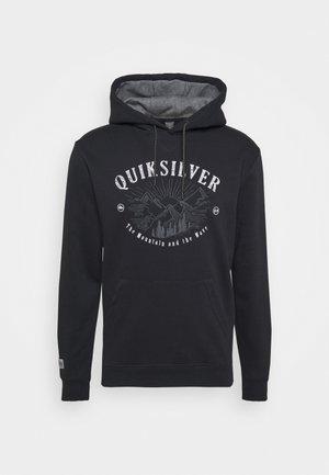 BIG LOGO HOODIE - Sweatshirt - true black