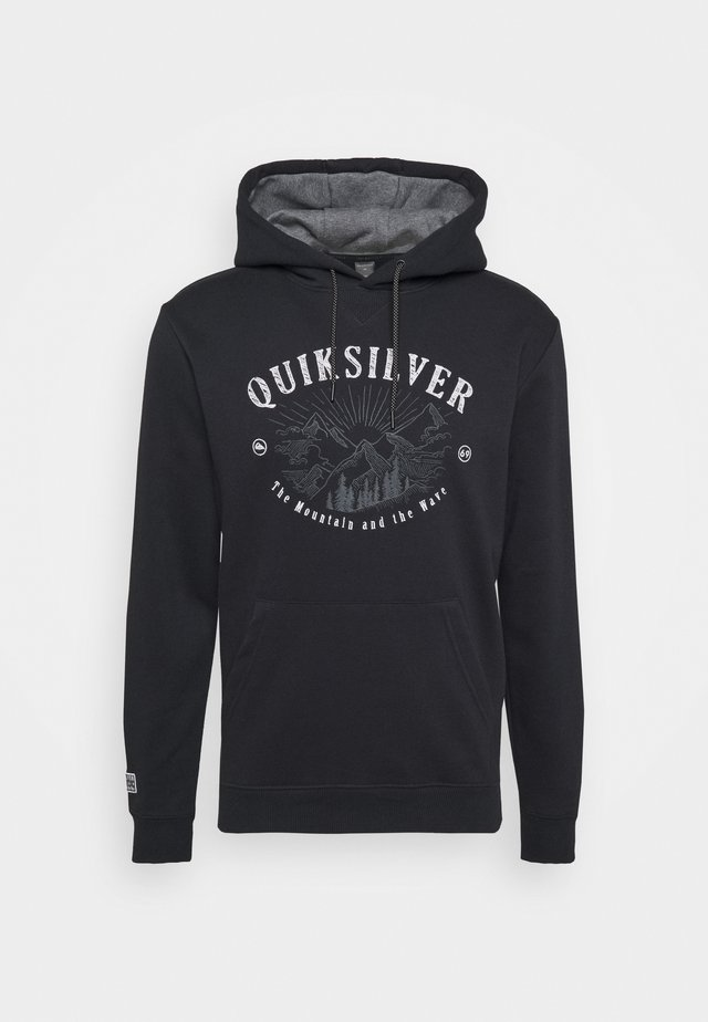 BIG LOGO HOODIE - Sweatshirt - true black