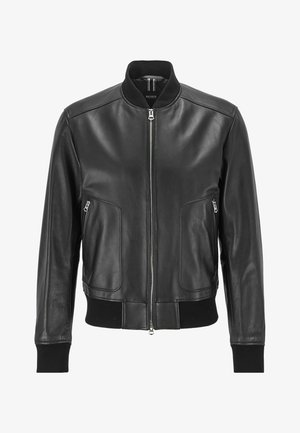 NIPET - Leather jacket - black