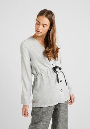 Blouse - grey melange