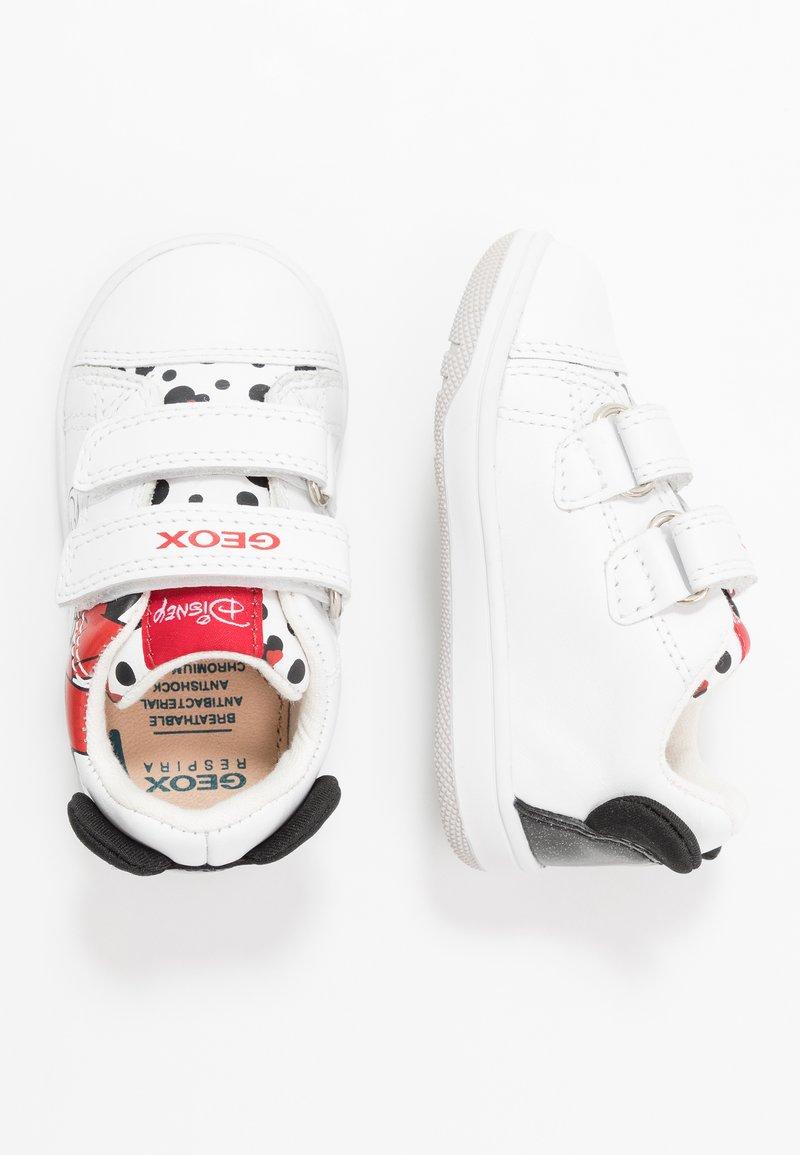 Geox - DISNEY NEW FLICK GIRL - Trainers - white