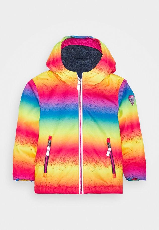 VIEWY - Snowboardová bunda - neon pink