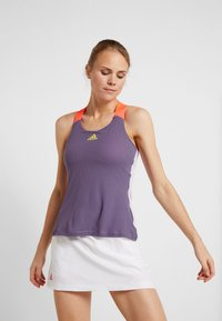 adidas Performance - TANK - Camiseta de deporte - purple - 0