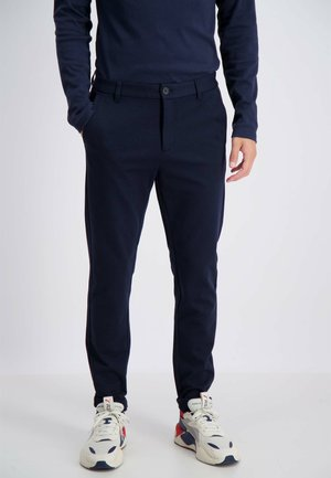 Trousers - navy mix