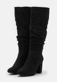 New Look - BILLIE - Vysoká obuv - black - 2