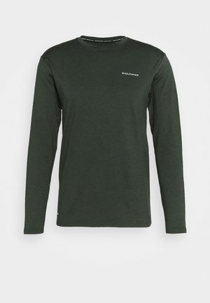 MELL MELANGE - T-shirt de sport - deep forest