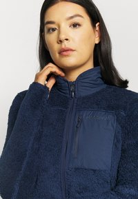 Norrøna - JACKET - Giacca in pile - dark blue - 4