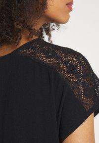 Vero Moda - VMNANCY KNEE DRESS - Day dress - black - 5