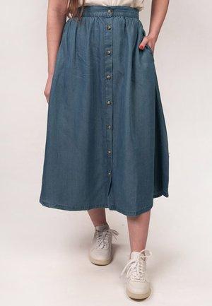 CORA - A-line skirt - dark blue